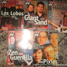 Coleccionismo de Revistas y Periódicos: LOTE DE 18 REVISTAS RUTA 66 AÑOS 80 - VER FOTOS - BUEN ESTADO. Lote 207236977