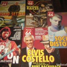Coleccionismo de Revistas y Periódicos: LOTE DE 5 REVISTAS RUTA 66 AÑOS 80 - VER FOTOS - BUEN ESTADO. Lote 207237072