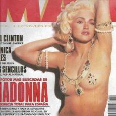 Coleccionismo de Revistas y Periódicos: REVISTA MAN Nº 60 LAS FOTOS MAS BUSCADAS DE MADONA. Lote 207237425
