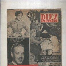 Coleccionismo de Revistas y Periódicos: DIEZ MINUTOS NUMERO 036 DEL 4 DE MAYO DE 1952. Lote 207258176