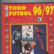 Coleccionismo de Revistas y Periódicos: DON BALON EXTRA NUMERO 36: LIGA 96/97. Lote 207258885