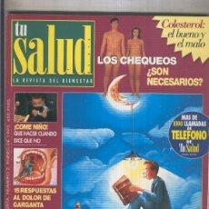 Coleccionismo de Revistas y Periódicos: TU SALUD NUMERO 002. Lote 207260100