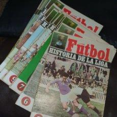 Coleccionismo de Revistas y Periódicos: HISTORIA DE LA LIGA 1969 (33 REVISTAS). Lote 207272645