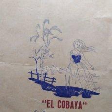 Coleccionismo de Revistas y Periódicos: LA COBAYA CUADERNO DE ARTES Y LETRAS QUE SE EDITA EN ÁVILA NÚM 7 1953 VVAA. Lote 207281358