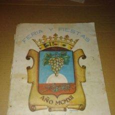 Coleccionismo de Revistas y Periódicos: REVISTA FERIA Y FIESTAS MORILES CORDOBA AÑO 1950 LEER. Lote 207285345