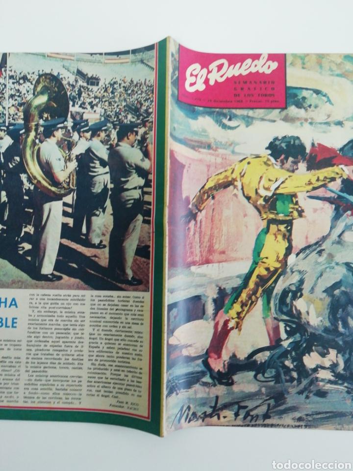 Coleccionismo de Revistas y Periódicos: Semanario EL RUEDO N°1279 DICIEMBRE 1968 - Foto 3 - 207297643
