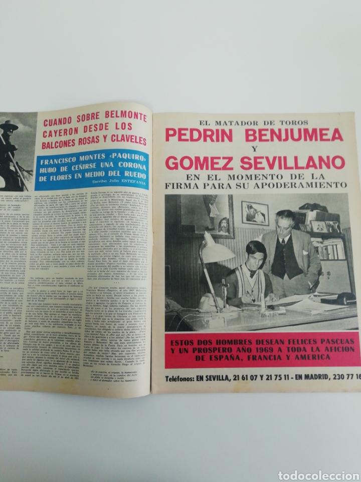 Coleccionismo de Revistas y Periódicos: Semanario EL RUEDO N°1279 DICIEMBRE 1968 - Foto 4 - 207297643