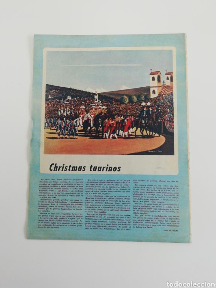 Coleccionismo de Revistas y Periódicos: Semanario EL RUEDO N°1281 ENERO 1969 - Foto 2 - 207298133