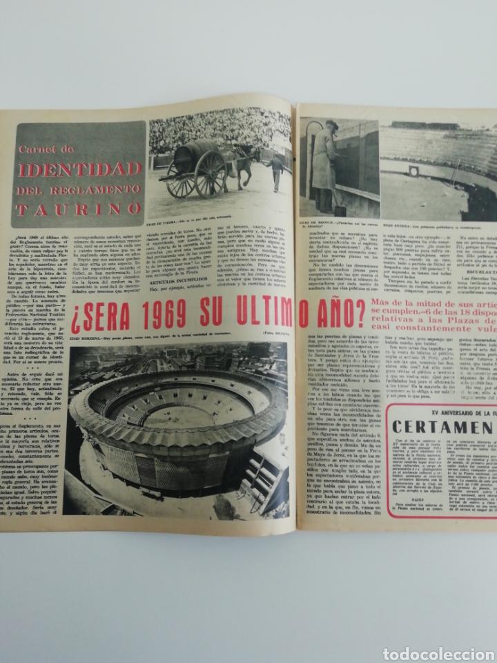 Coleccionismo de Revistas y Periódicos: Semanario EL RUEDO N°1281 ENERO 1969 - Foto 4 - 207298133