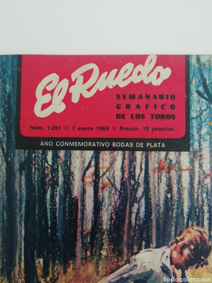 Coleccionismo de Revistas y Periódicos: Semanario EL RUEDO N°1281 ENERO 1969 - Foto 5 - 207298133