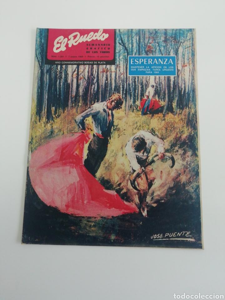 SEMANARIO EL RUEDO N°1281 ENERO 1969 (Coleccionismo - Revistas y Periódicos Modernos (a partir de 1.940) - Otros)