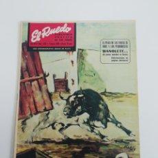 Coleccionismo de Revistas y Periódicos: SEMANARIO EL RUEDO N°1285 FEBRERO 1969. Lote 207298432