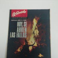 Coleccionismo de Revistas y Periódicos: SEMANARIO EL RUEDO N°1395 MARZO 1971. Lote 207298932