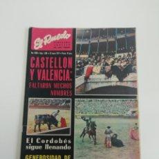 Coleccionismo de Revistas y Periódicos: SEMANARIO EL RUEDO N°1396 MARZO 1971. Lote 207299191