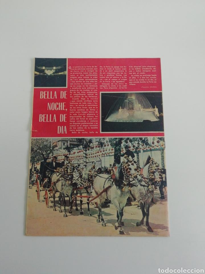 Coleccionismo de Revistas y Periódicos: Semanario EL RUEDO N°1339 ABRIL 1971 - Foto 2 - 207299860
