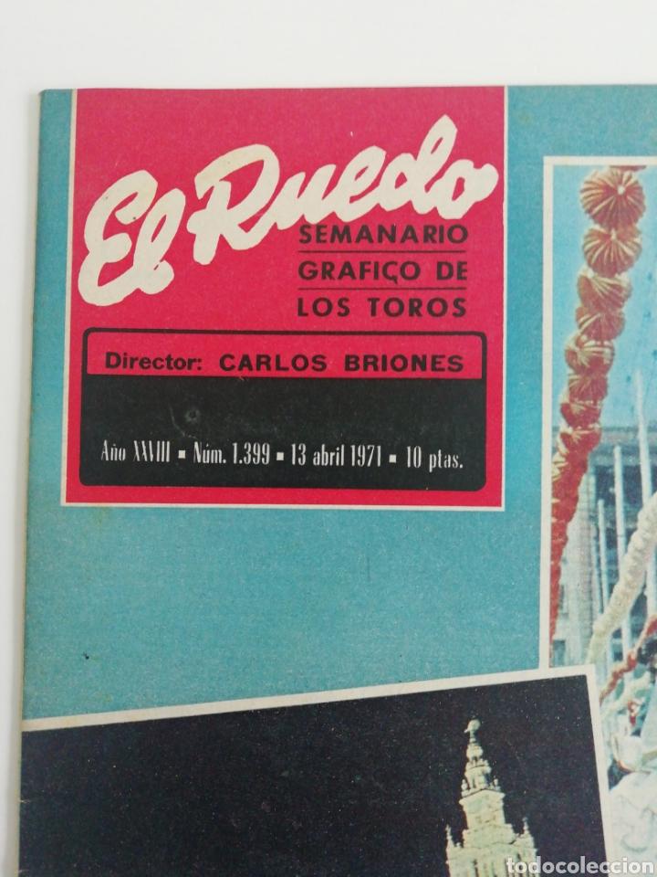 Coleccionismo de Revistas y Periódicos: Semanario EL RUEDO N°1339 ABRIL 1971 - Foto 3 - 207299860