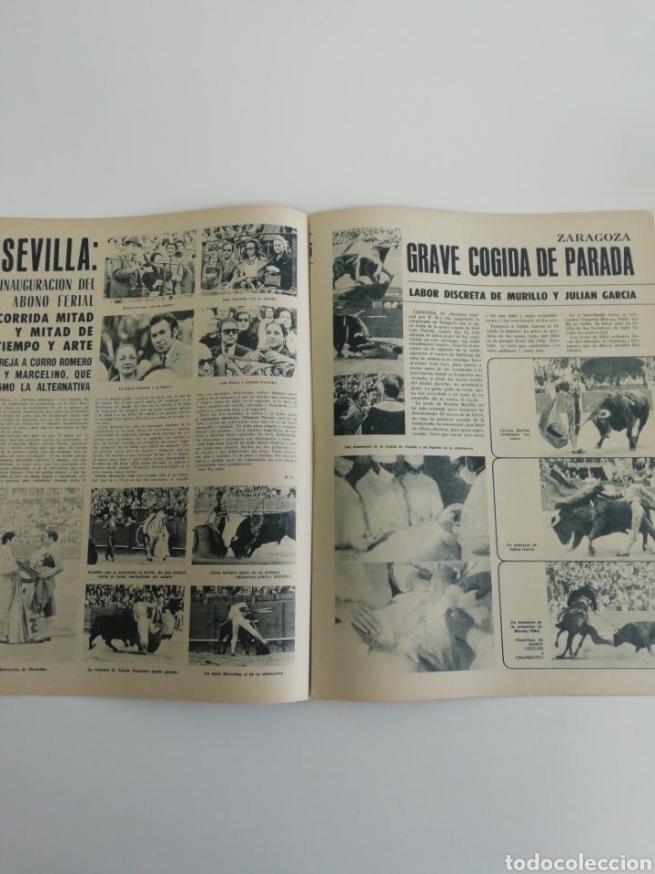 Coleccionismo de Revistas y Periódicos: Semanario EL RUEDO N°1339 ABRIL 1971 - Foto 5 - 207299860