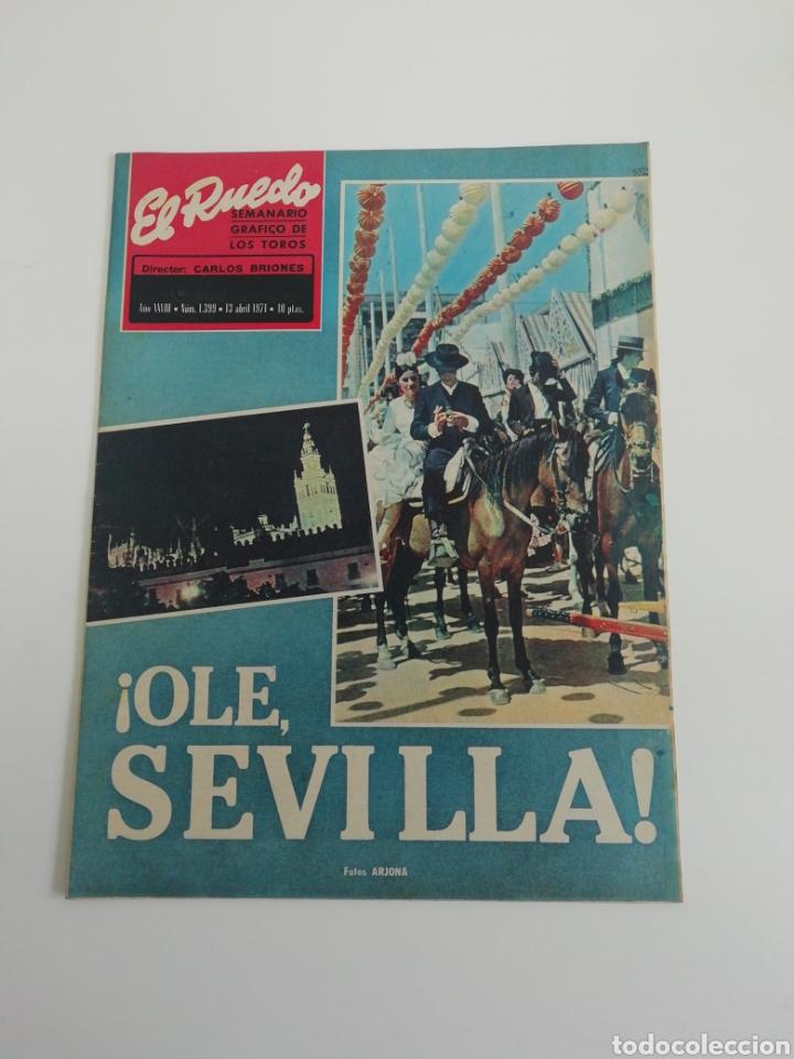 SEMANARIO EL RUEDO N°1339 ABRIL 1971 (Coleccionismo - Revistas y Periódicos Modernos (a partir de 1.940) - Otros)
