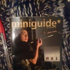 Coleccionismo de Revistas y Periódicos: REVISTA - MINIGUIDE BCN INSIDE - AUTUM 2005. Lote 207323431