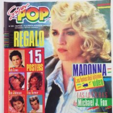 Coleccionismo de Revistas y Periódicos: REVISTA SUPER POP 224 MADONNA MODERN TALKING A-HA FRANKIE GOES TO HOLLYWOOD SPANDAU BALLET HOMBRES G. Lote 245725615