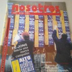 Coleccionismo de Revistas y Periódicos: REVISTA NOSOTROS. NÚMERO 25 AÑO III. FE JONS. FALANGE. REF. UR EST. Lote 207357581
