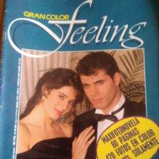 Coleccionismo de Revistas y Periódicos: FOTONOVELA FEELING GRAN COLOR. NÚM 1. Lote 207375650