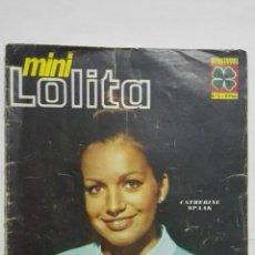Coleccionismo de Revistas y Periódicos: MINI LOLITA FOTONOVELA EDITORMEX N 6 AÑO 1967 -- TIENE UNA PAGINA RECORTADA UNA FOTO. Lote 207392398
