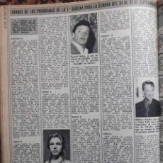 Coleccionismo de Revistas y Periódicos: RECORTE REVISTA INMA DE SANTY SANTIS -- TELERADIO 4 MARZO 1974. Lote 207392487