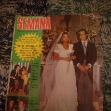 Coleccionismo de Revistas y Periódicos: REVISTA SEMANA N 1859 -4 OCTUBRE 1975 - ROSA VALENTY, AGATA LYS, INMA DE SANTIS, JUAN PARDO. Lote 207422797