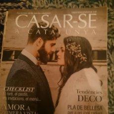 Coleccionismo de Revistas y Periódicos: CASAR-SE A CATALUNYA - PRIMAVERA 2017 - N 43. Lote 207436845