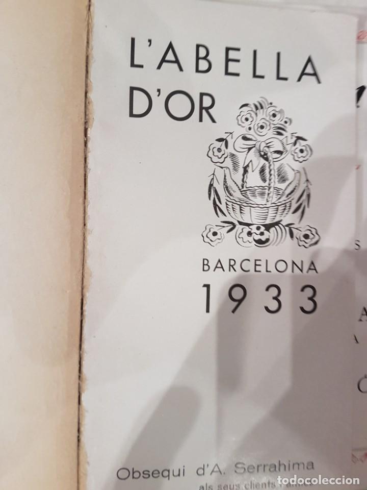 L'ABELLA D'OR LOTE DE 4 EJEMPLARES (Coleccionismo - Revistas y Periódicos Antiguos (hasta 1.939))