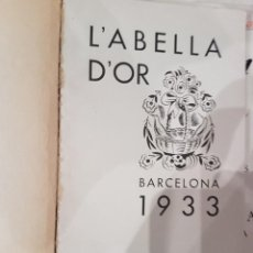 Coleccionismo de Revistas y Periódicos: L'ABELLA D'OR LOTE DE 4 EJEMPLARES. Lote 207442720