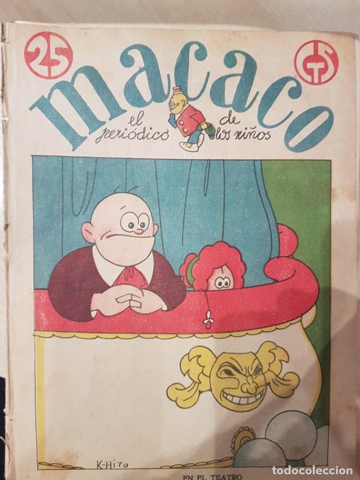 Coleccionismo de Revistas y Periódicos: MACACO El Periodico de los niños 5 ejemplares año 1929 - Foto 5 - 207446863