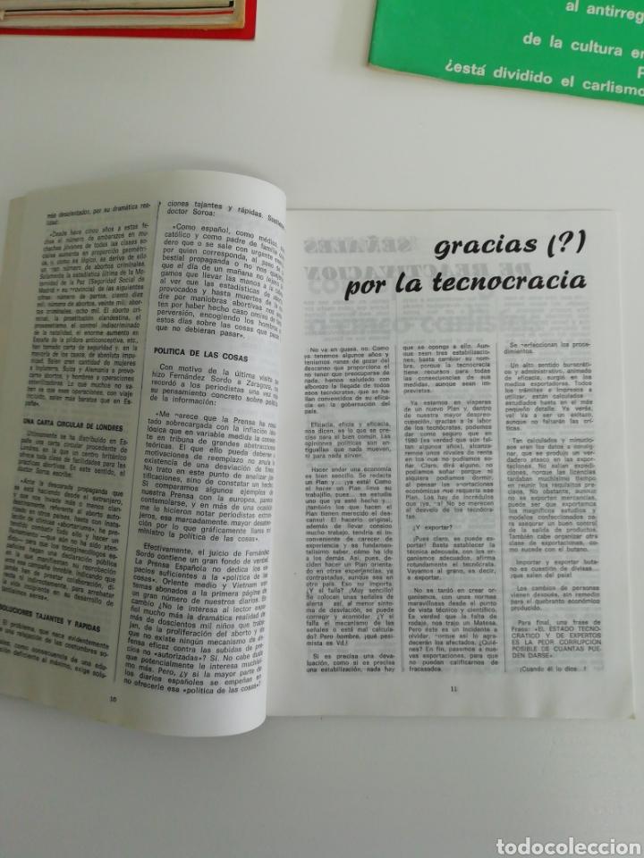 Coleccionismo de Revistas y Periódicos: Antigua colección de revistas Carlistas (22 revistas). - Foto 7 - 207515281