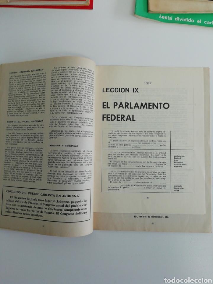 Coleccionismo de Revistas y Periódicos: Antigua colección de revistas Carlistas (22 revistas). - Foto 13 - 207515281