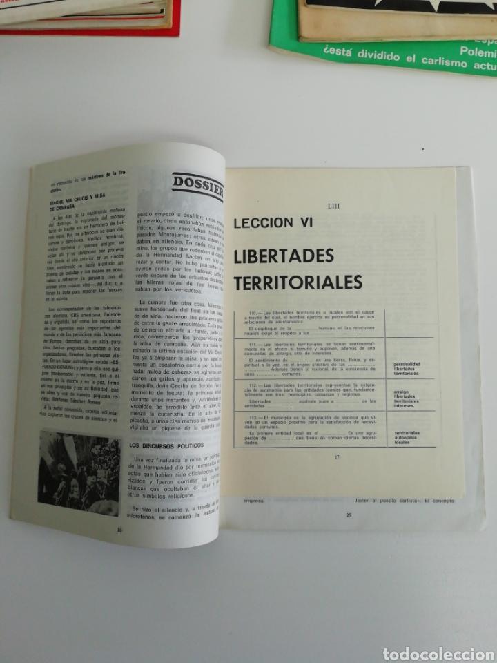 Coleccionismo de Revistas y Periódicos: Antigua colección de revistas Carlistas (22 revistas). - Foto 15 - 207515281
