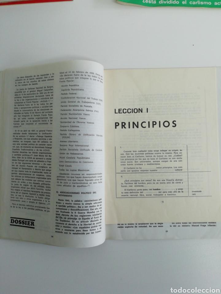 Coleccionismo de Revistas y Periódicos: Antigua colección de revistas Carlistas (22 revistas). - Foto 17 - 207515281