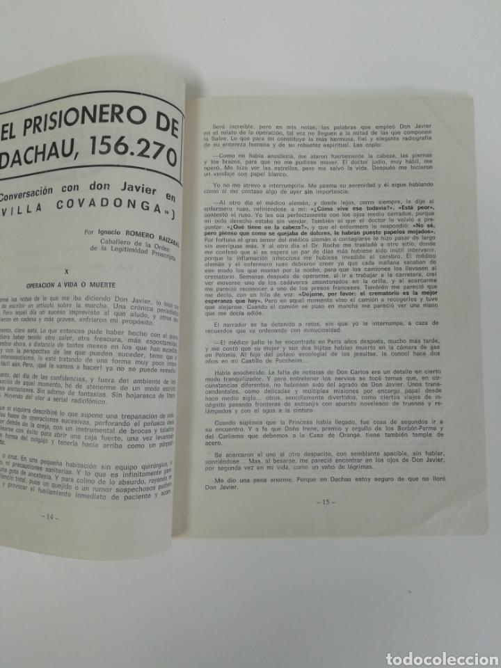 Coleccionismo de Revistas y Periódicos: Antigua colección de revistas Carlistas (22 revistas). - Foto 27 - 207515281