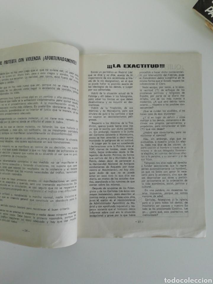 Coleccionismo de Revistas y Periódicos: Antigua colección de revistas Carlistas (22 revistas). - Foto 38 - 207515281