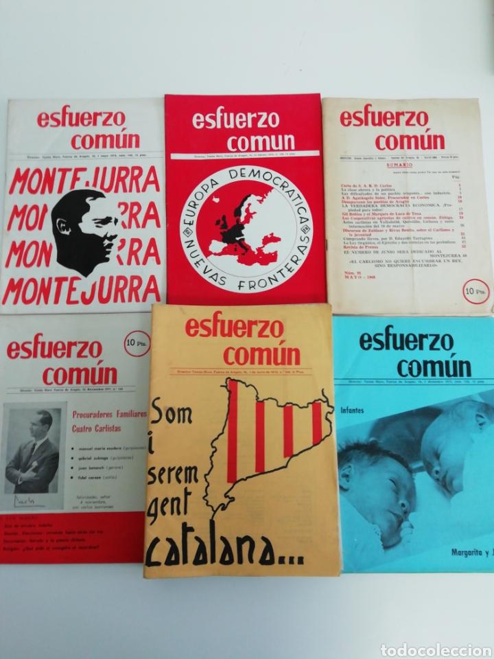ANTIGUA COLECCIÓN DE REVISTAS CARLISTAS (22 REVISTAS). (Coleccionismo - Revistas y Periódicos Modernos (a partir de 1.940) - Otros)