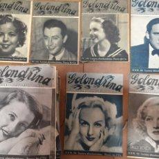 Coleccionismo de Revistas y Periódicos: REVISTA LA GOLONDRINA. SHIRLEY TEMPLE, NORMA SHEARER ETC LOTE DE 144 EJEMPLARES. Lote 207594147