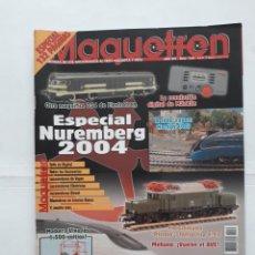 Coleccionismo de Revistas y Periódicos: REVISTA MAQUETREN N° 134. ESPECIAL NUREMBERG 2004. Lote 207721975