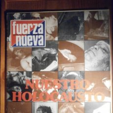 Collectionnisme de Revues et Journaux: REVISTA - SEMANARIO - FUERZA NUEVA - Nº 652 - 7 DE JULIO DE 1979 - HOLOCAUSTO, NICARAGUA. Lote 207787982