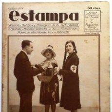 Coleccionismo de Revistas y Periódicos: ESTAMPA, REVISTA GRÁFICA Y LITERARIA. 19 DE MAYO DE 1928, N.º 25. ORIGNAL DE ÉPOCA.. Lote 207822385