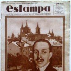 Coleccionismo de Revistas y Periódicos: ESTAMPA, REVISTA GRÁFICA Y LITERARIA. 19 DE SEPTIEMBRE DE 1931, N.º 193. ORIGNAL DE ÉPOCA.. Lote 207823360