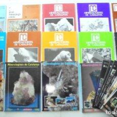 Coleccionismo de Revistas y Periódicos: 10/16 EURO/EXEMPLAR REVISTA MINERALOGISTES DE CATALUNYA GRUP MINERALÒGIC CATALÀ 1981- 2007 IMPECABLE. Lote 229872755