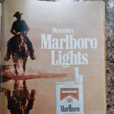 Coleccionismo de Revistas y Periódicos: ANUNCIO TABACO CIGARRILLOS MARLBORO. Lote 218945161