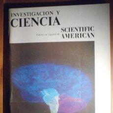 Coleccionismo de Revistas y Periódicos: INVESTIGACIÓN Y CIENCIA - SCIENTIFIC AMÉRICAN - EL CEREBRO - NOVIEMBRE 1979. Lote 208010805