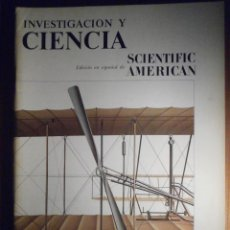 Coleccionismo de Revistas y Periódicos: INVESTIGACIÓN Y CIENCIA - SCIENTIFIC AMÉRICAN - AVIÓN MOTOPROPULSADO DE LOS WRIGHT - SEPTIEMBRE 1979. Lote 208011068