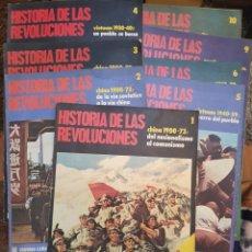 Coleccionismo de Revistas y Periódicos: 8 REVISTAS HISTORIA DE LAS REVOLUCIONES CHINA 1900-73. Lote 208095222